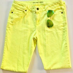 Michael Kors Highlighter Skinny Jeans